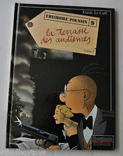 THEODORE POUSSIN #9 La Terrasse Audiences BD / French Comic FRANK LE GALL Dupuis