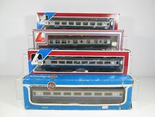 4 x Lima / Airfix OO Gauge BR Blue / Grey Coaches