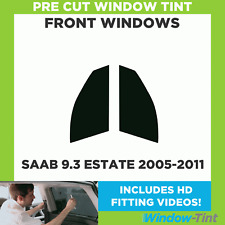 Pre Cut Window Tint - SAAB 9.3 Estate 2005-2011 - Front Windows