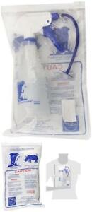 Elephant Ear Washer Bottle by Dr. Easy Complete Kit w/3 tips #EW New SHIPS FREE