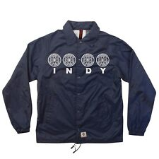 Independent Trucks Four Of A Kind Coach Windbreaker Jacket Light Navy Xxl