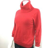 MICHAEL KORS • KORS 100% Cashmere Red Cowl Neck Sweater Vintage, Women's Large