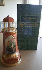 "New listing Avon Thomas Kinkade Collectible Lighthouse ""The Light Of Peace"""