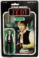 Vintage Star Wars Carded ROTJ Han Solo (Original) Action Figure // C6 (Marker...