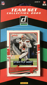 Cleveland Browns 2020 Donruss Factory Sealed Team Set Mayfield Plus Rookie cards