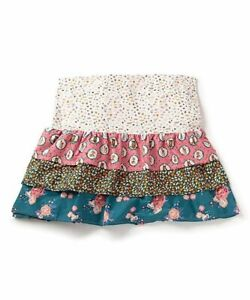 NWT Matilda Jane Choose Your Own Path Rosy Blossoms Bed Skirt/ Bedskirt