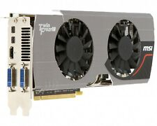 MSI R6950 Twin Frozr III 1GD5 Power Edition/OC  Video Card. Silver Fast shipping