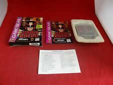 Judge Dredd Sega Game Gear COMPLETE w/ Box manual game WORKS!