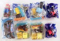 8 McDonalds Happy Meal Toys Angry Birds Harry Potter Super Mario DC Teen Bundle
