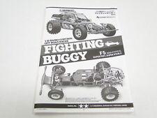 NEW TAMIYA SUPER CHAMP/FIGHTING BUGGY Manual TX12