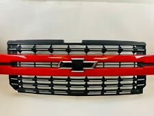 2019 2020 Chevrolet Silverado 1500 Front Grille Grill Red OEM
