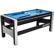 Game Table Set 4-In-1 Swivel Combo Interchangeable Indoor Sport Room Family Play