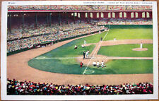 Comiskey Park/Baseball Stadium, Home of White Sox 1940s Postcard - Chicago, Il