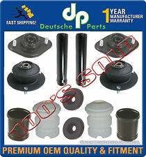 FRONT REAR SHOCK STRUT MOUNT MOUNTS BEARING BUMP STOP KIT 12 for BMW E30 E24 E28