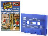 TKKG 30  Die Mafia kommt zur Geisterstunde Hörspiel  MC blau Kassette Europa -