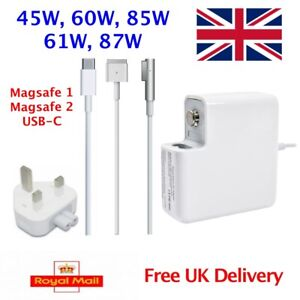 29W 45W 60W 85W 61W 87W AC Adapter Mag Safe1  2 Power Charger Macbook Pro / Air