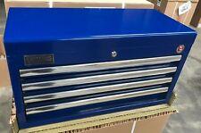"NEW WILLIAMS BLUE TOOL BOX TOP BOX 26"" x 12"" RACE RALLY APPRENTICE BOX"