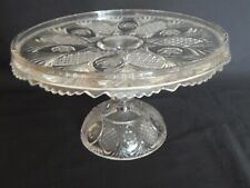 Bagley/sowerby/davidson Cooperative Studio Vintage Bagley Frosted Vase Bowl With Metal Basket Leaves Attractive Fashion Glass