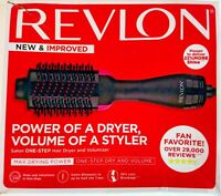 Revlon Pro Collection Salon One Step Hair Dryer & Volumizer Brush Black/Pink NEW
