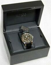 Bulova Accu-Swiss 63A122 Kirkwood Automatic Mens' Watch Skeleton