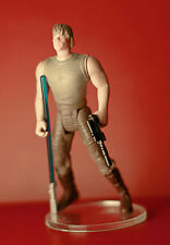 Luke Skywalker in Degobah Fatigues (SS) Complete loose Star Wars POTF II C9