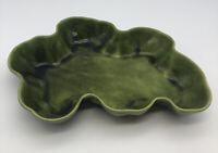 Vintage MCM California Los Angeles Potteries Green FLAMINGO POND Bowl 295 Marked