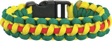 Vietnam Knotty Boys Bracelet Survival Item Size Large Yellow red and green KY124