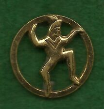 GIRL SCOUT 2nd BROWNIE MEMBERSHIP PIN 1937-39 - VERY SCARCE ITEM - ONLY 2 YEARS