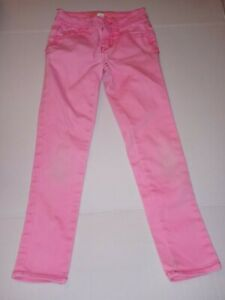 Justice jeans Girls Size 7S Pink Simply Low Jeans