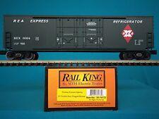 30-74772 MTH Railking O/O27 Railway Express Agency 50' Boxcar NIB