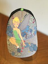 "Disney Tinkerbell ""Tink""  Gray Mesh Back  Cap Hat SnapBack"