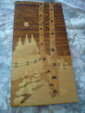 Moonlight Country Scene Marquetry Plaque