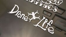 Drone Life Storm VInyl Decal Sticker Quad Copter RC Helicopter Inspire DJI