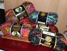 Lion Brand Boucle Yarn Color Choices