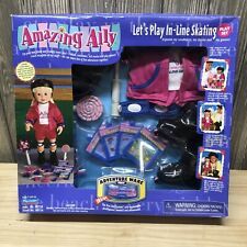 Vintage Amazing Ally Playmates Interactive Doll Let's Play In-Line Skating Set