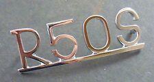 LOGO-BMW-R 50 S-per Ruota Posteriore Parafango-CROMATO