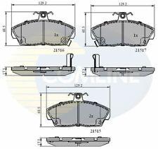Front Brake Pads FOR HONDA CIVIC Mk7 1.3 1.4 1.6 1.7 00->05 CHOICE1/2 Comline