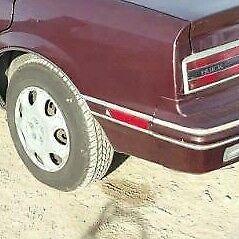 Buick Skylark, Somerset: 1986 - 1991, Left Rear Marker Light With Brown Bezel