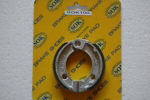 REAR BRAKE SHOES fit HONDA PA 50 Moped, 1982-1983 PA50 PA50II