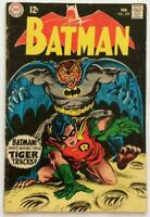 Batman #209. DC 1969. Silver Age VG- condition.