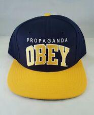 OBEY Propaganda snapback adjustable hat