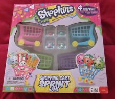 SHOPKINS SHOPPING CART SPRINT GAME NEW IN SEALED BOX BY PRESSMAN AGES 5 AND UP