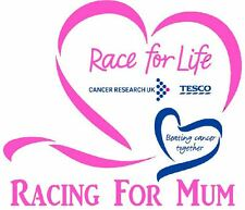 Race For Life T Shirt Transfer Mum A5 2017 Iron On Charity Pink