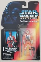 STAR WARS POWER OF THE FORCE LUKE SKYWALKER IN X-WING PILOT GEAR LONG LIGHTSABER