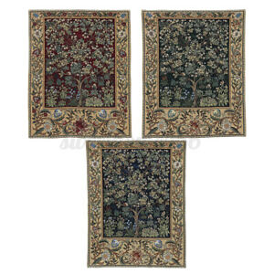 William Morris Tree of Life Fine Art Tapestry Wall Hanging Home Decor