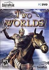 Two (2) Worlds (RPG Adventure PC DVD Game) - WITH BOX, MANUAL, DVD, & CARD