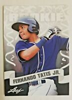 FERNANDO TATIS JR 25 count lot Leaf PRIZED Rookies gem mint Rookies S.D. Padres