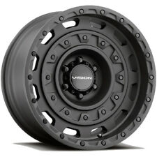 4 Vision 403 Tactical 20x95 6x55 18mm Satin Black Wheels Rims 20 Inch Fits More Than One Vehicle