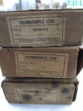 Honeywell Vintage Thermocouples Lot of 3 - New / NOS