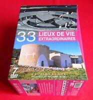 33 LIEUX DE VIES EXTRAORDINAIRES - COFFRET 7 DVD - EN TRÈS BON  ÉTAT